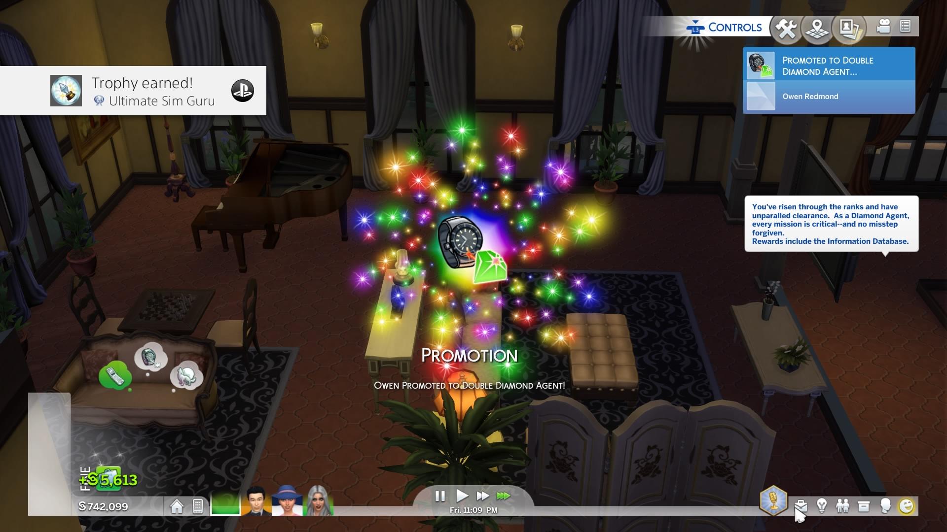 The Sims 4 platinum
